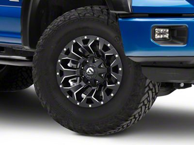Fuel Wheels Assault Black Milled 6-Lug Wheel - 17x9 (04-18 F-150)