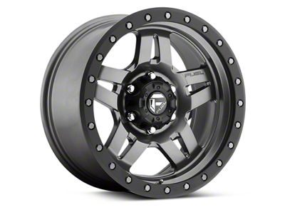 Fuel Wheels ANZA Matte Anthracite w/ Black Ring 6-Lug Wheel - 17x8.5 (04-18 F-150)
