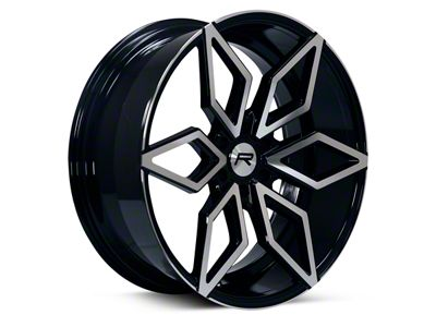 Rovos Kimberley Black Machined 6-Lug Wheel - 24x10 (04-19 F-150)