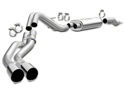 Magnaflow MF Series Dual Exhaust System - Same Side Exit - After Rear Tire (15-19 5.0L F-150)