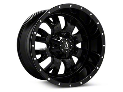 RBP 89R Assassin Gloss Black Machined 6-Lug Wheel - 18x9 (04-18 F-150)