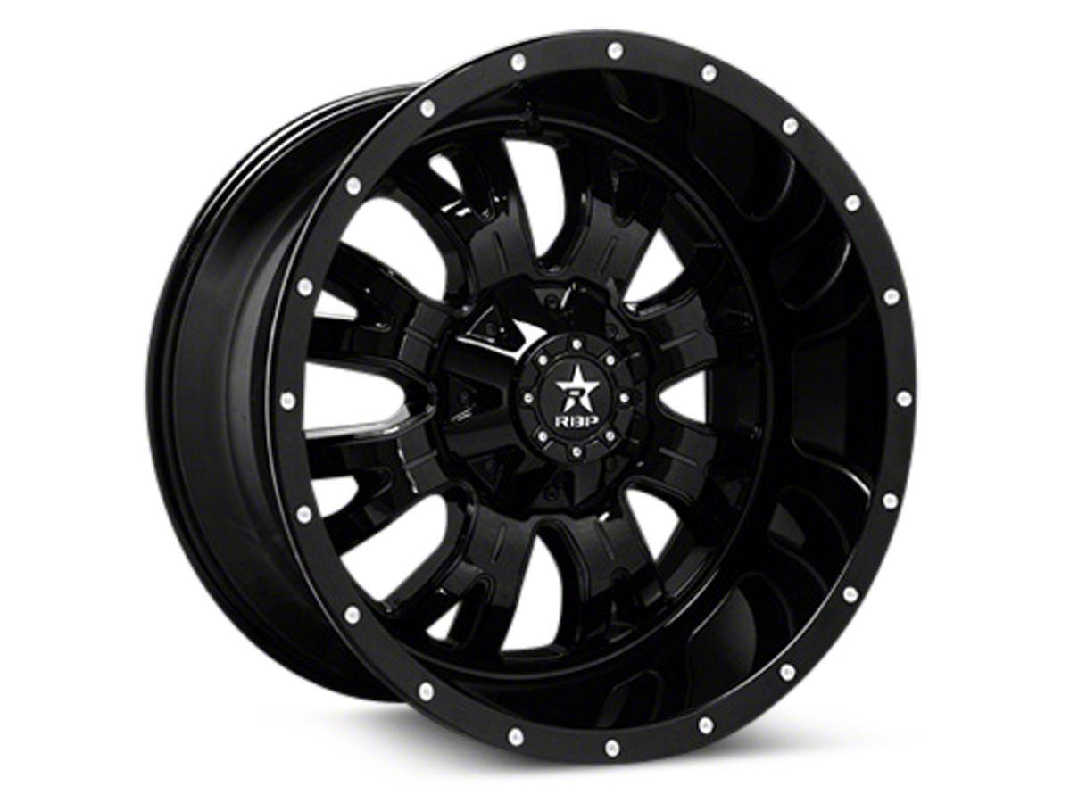 RBP 89R Assassin Gloss Black Machined 6-Lug Wheel - 20x10 (04-19 F-150)