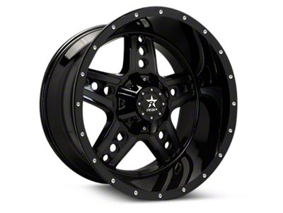 RBP 90R Colt Gloss Black Machined 6-Lug Wheel - 20x10 (04-18 F-150)