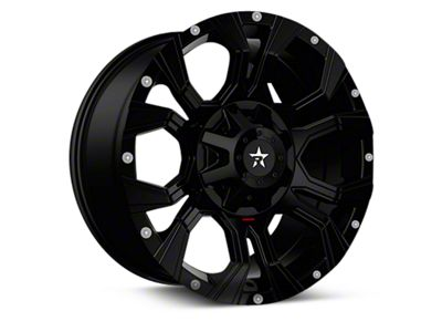 RBP 64R Widow Gloss Black 6-Lug Wheel - 18x9 (04-18 F-150)