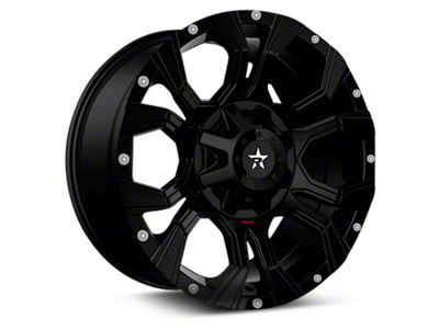 RBP 64R Widow Gloss Black 6-Lug Wheel - 20x12 (04-18 F-150)