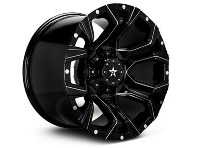 RBP 64R Widow Gloss Black w/ Machined Accents 6-Lug Wheel - 20x10 (04-18 F-150)