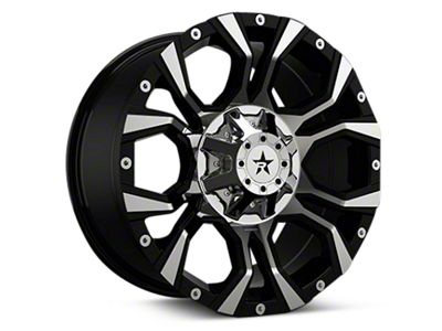 RBP 64R Widow Black Machined 6-Lug Wheel - 20x10 (04-18 F-150)