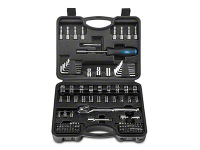 110 Piece 1/4 in. and 3/8 in. Socket Set - SAE and Metric