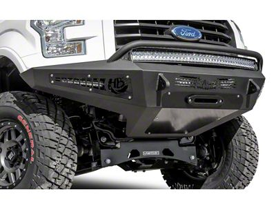 Addictive Desert Designs Honeybadger Front Bumper w/ Winch Mount (15-17 3.5L V6, 5.0L F-150)