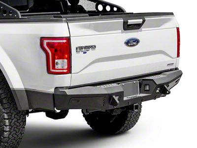 Addictive Desert Designs Honeybadger Rear Bumper (15-19 F-150, Excluding Raptor)