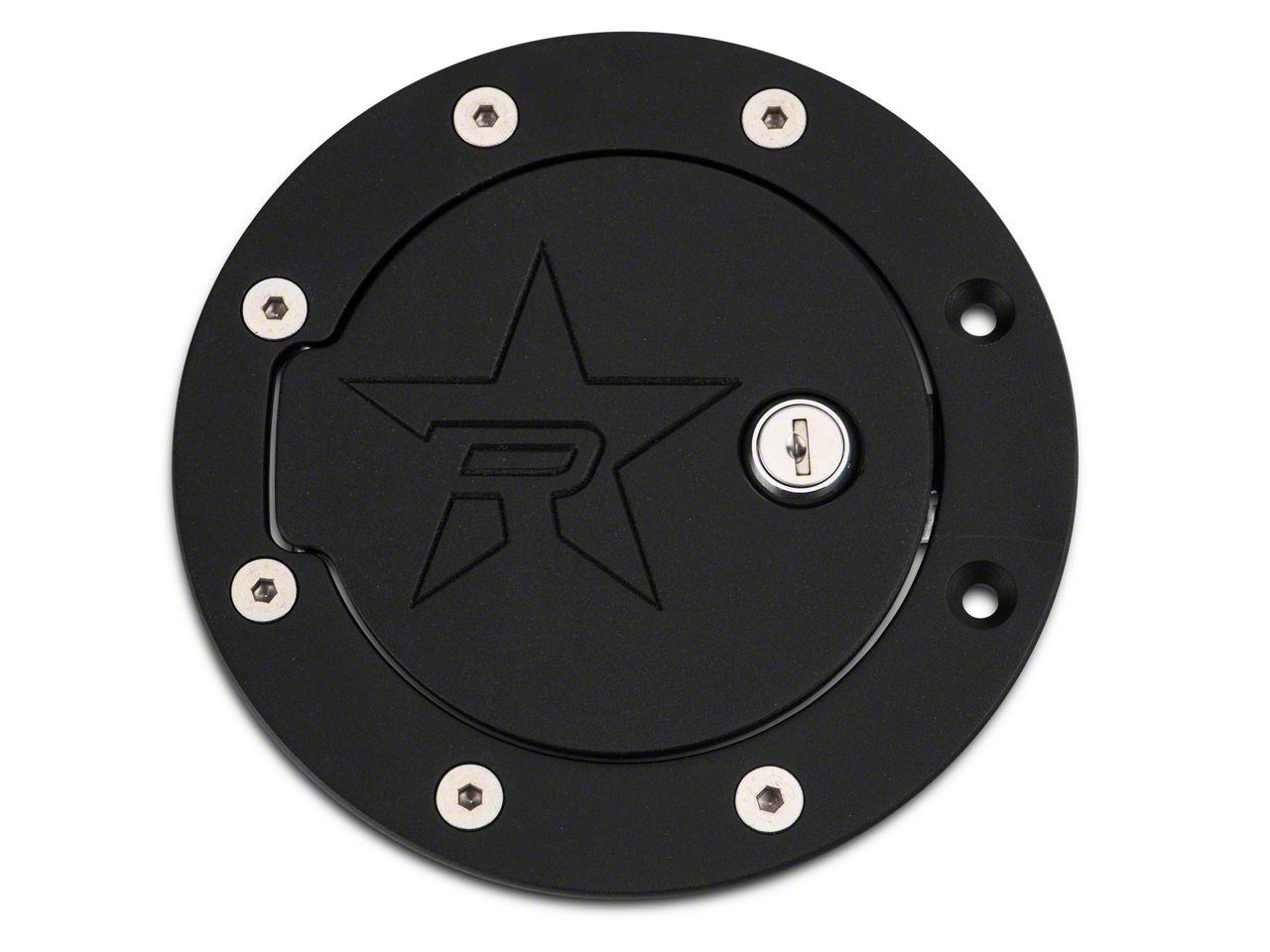 RBP RX-2 Locking Fuel Door - Black (97-03 F-150 Styleside)