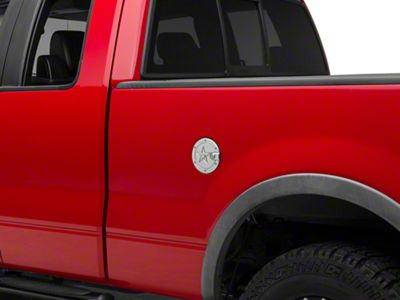 RBP RX-2 Locking Fuel Door - Polished Aluminum (04-08 F-150 Styleside)