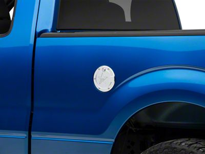 RBP RX-2 Polished Aluminum Locking Fuel Door (09-14 F-150 Styleside)