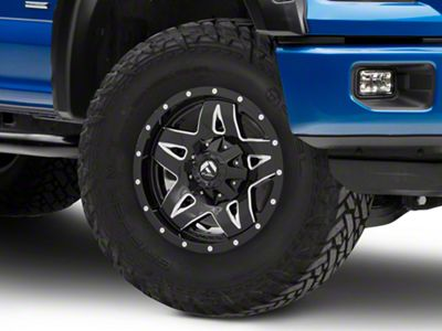 Fuel Wheels Full Blown Black Machined 5-Lug Wheel - 17x9 (97-03 F-150)