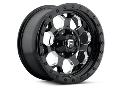 Fuel Wheels Savage Black Machined 5-Lug Wheel - 17x8.5 (97-03 F-150)