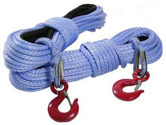 Smittybilt 11/32 in. x 100 ft. DSK-75 Synthetic Winch Rope - 8,000 lbs.