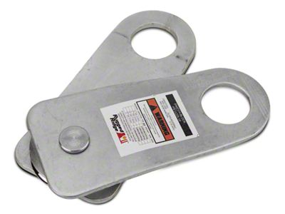 Rugged Ridge Snatch Block Pulley - 20,000 lb. Limit