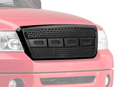 Barricade Upper Replacement Grille - Black (04-08 F-150)