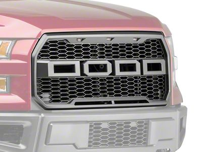 Barricade Upper Replacement Grille w/ LED Lighting (15-17 F-150, Excluding Raptor)