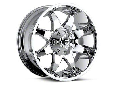 Fuel Wheels Octane Chrome 6-Lug Wheel - 20x9 (04-19 F-150)
