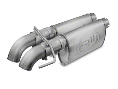 Stainless Works 3 in. Dump Style Dual Exhaust System w/ Chambered Turbo Mufflers - Performance Connect (10-14 6.2L F-150 Raptor SuperCab)