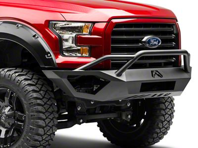 Fab Fours Vengeance Front Bumper w/ Pre-Runner Guard (15-17 F-150, Excluding Raptor)