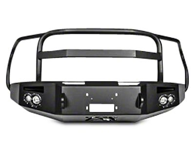 Fab Fours Premium Winch Front Bumper w/ Full Guard (15-17 F-150, Excluding Raptor)