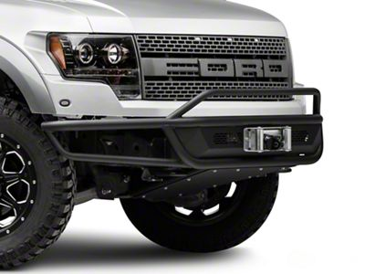 Body Armor 4x4 Desert Series Front Bumper w/ Belly Pan (10-14 F-150 Raptor; 11-14 5.0L F-150)