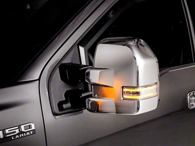 Putco Chrome Mirror Covers (15-18 F-150 w/ Towing Mirrors)