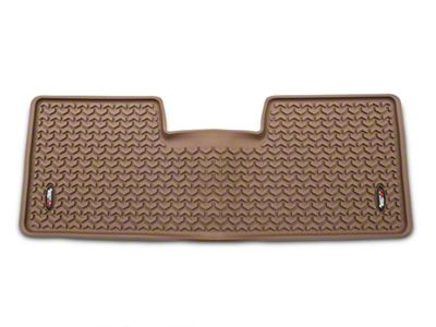 Rugged Ridge Rear Floor Liner - Tan (09-14 F-150 SuperCab, SuperCrew)