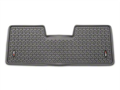 Rugged Ridge Rear Floor Liner - Gray (09-14 F-150 SuperCab, SuperCrew)