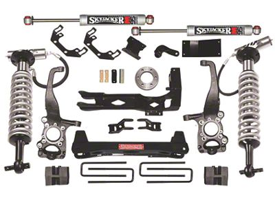 SkyJacker 6 in. LeDuc Series Coilover Suspension Lift Kit w/ M95 MonoTube Shocks (09-13 4WD F-150, Excluding Raptor)