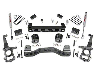 Rough Country 4 in. Lift Kit w/ Shocks (15-19 2WD F-150)