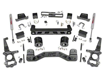 Rough Country 5 in. Lift Kit w/ Shocks (15-19 2WD F-150)