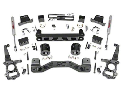 Rough Country 6 in. Lift Kit w/ Shocks (15-19 2WD F-150)