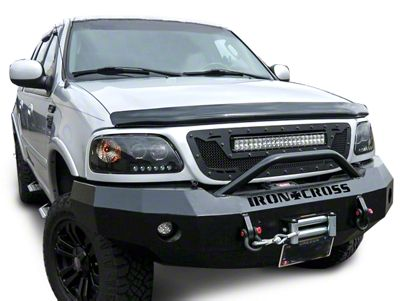 Royalty Core RCRX Race Line Grille w/ Top Mounted 23 in. LED Light Bar - Satin Black (97-03 F-150)