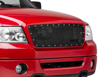 Royalty Core RCR Race Line Upper Grille Insert - Satin Black (04-08 F-150)