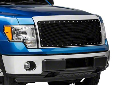 Royalty Core RC1 Classic Stainess Steel Grille - Gloss Black (09-14 F-150, Excluding Raptor)