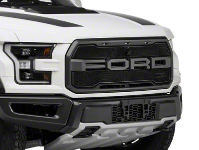 Royalty Core RCR Race Line Upper Replacement Grille - Satin Black (17-19 F-150 Raptor)