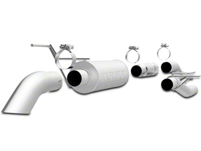 Magnaflow Off Road Pro Series Single Exhaust System - Turn Down (09-10 5.4L F-150, Excluding Raptor)