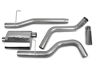 CGS Motorsports Aluminized Single Exhaust System - Side Exit (04-08 4.6L F-150)