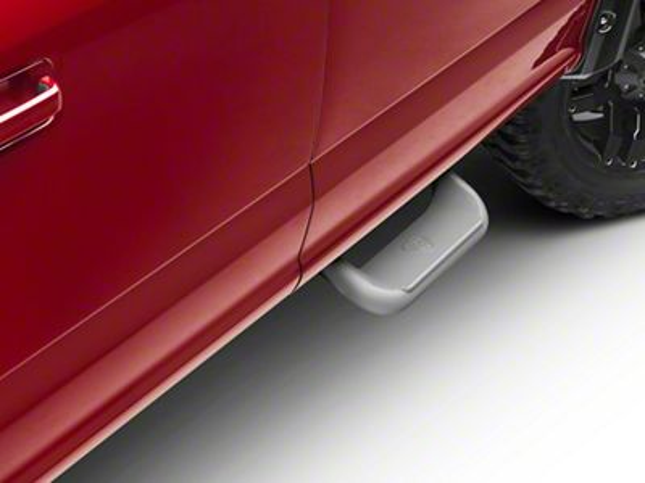 Carr Super Hoop Steps - Titanium Silver (15-19 F-150)