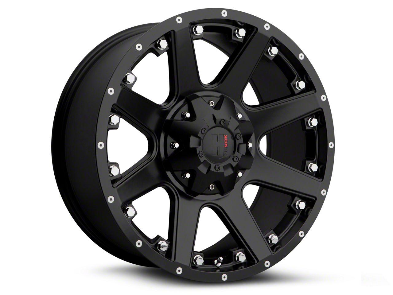 Havok Off-Road H102 Matte Black 6-Lug Wheel - 18x9 (09-14 F-150)