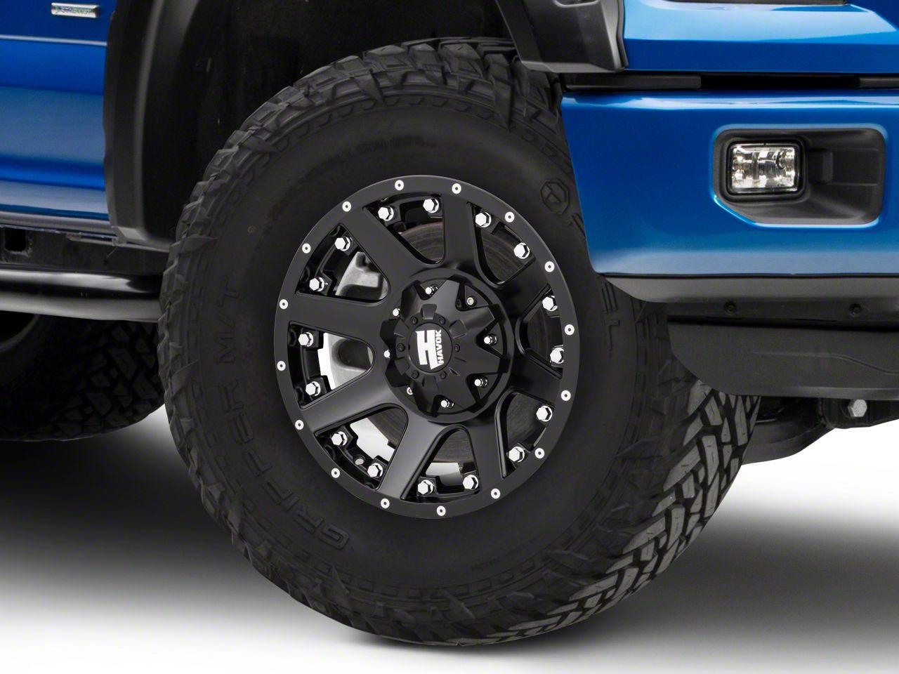 Havok Off-Road H102 Matte Black 6-Lug Wheel - 17x9 (04-08 F-150)