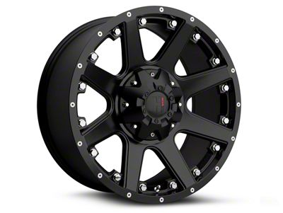 Havok Off-Road H102 Matte Black 6-Lug Wheel - 17x9 (09-14 F-150)