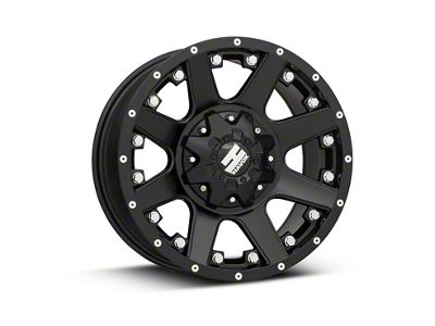 Havok Off-Road H102 Matte Black 6-Lug Wheel - 17x9 (15-18 F-150)