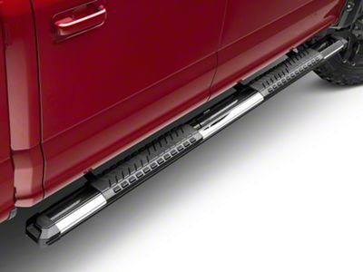 Steel Craft STX400 Aluminum Step Boards - Polished Stainless (15-18 F-150 SuperCab, SuperCrew)