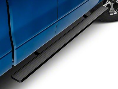 Barricade Aluminum Running Boards - Black (09-14 F-150)