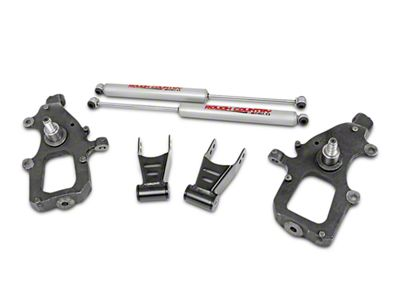 Rough Country Lowering Kit w/ Premium N2.0 Shocks - 2 in. Front / 2 in. Rear (04-08 2WD F-150)