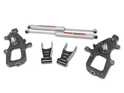 Rough Country Lowering Kit w/ Performance 2.2 Shocks - 2 in. Front / 2 in. Rear (04-08 2WD F-150)